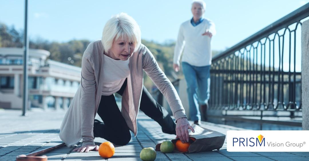 Seniors, Falling & Eye Injuries from Falling