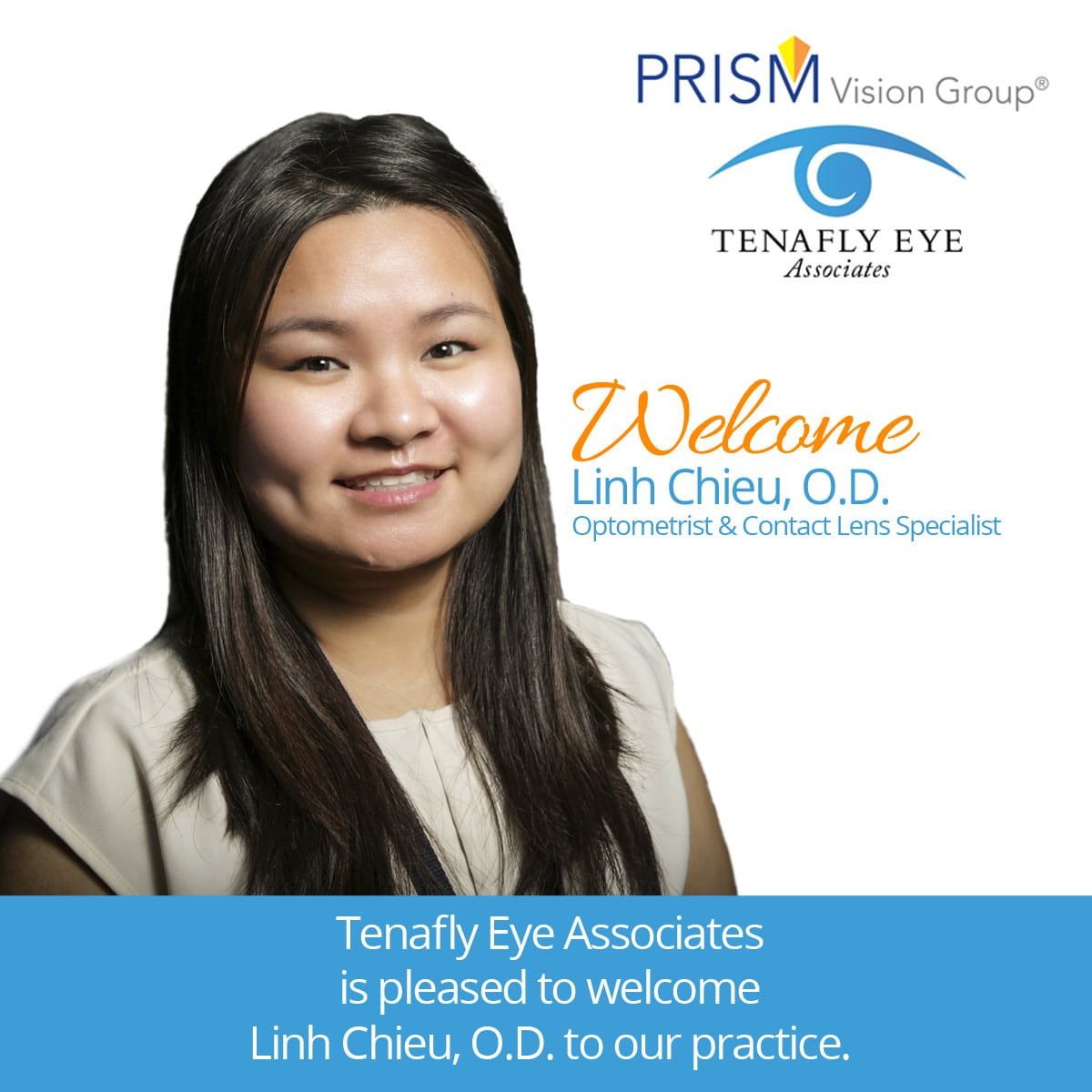 Welcome Dr. Linh Chieu!